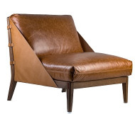 Barao Poltrona - La Paz Camel Chair - Front View