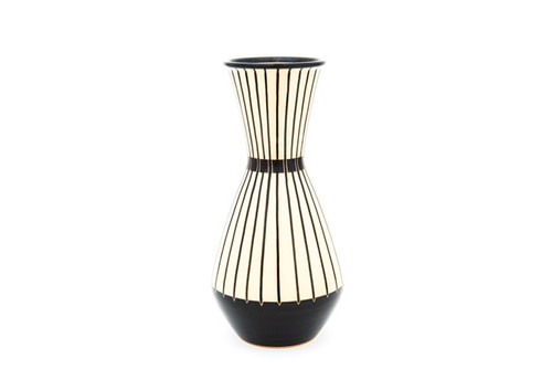 Lotus Stripe Vase