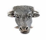 Steer Head Napkin Ring