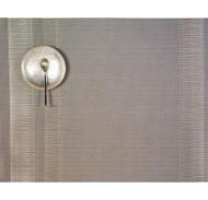 Tuxedo Stripe Placemat - Silver