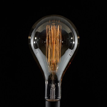 15 x 7 Vintage Bulb