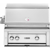 "Lynx 30"" Built-in Gas Grill - 1 ProSear2 IR Burner with Rotisserie"