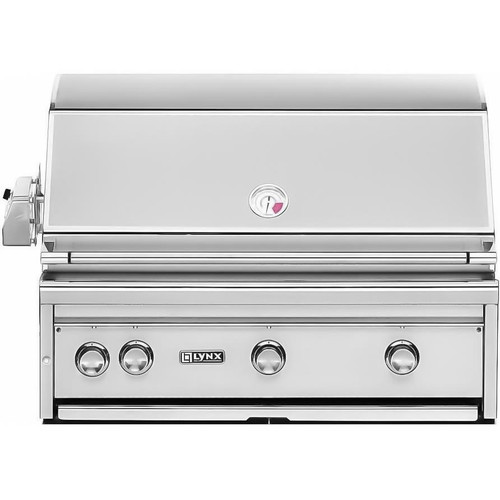 "Lynx 36"" Built-in Gas Grill with Rotisserie"