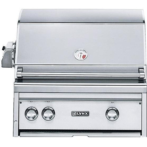 "Lynx 27"" Built-in Gas Grill with Rotisserie"