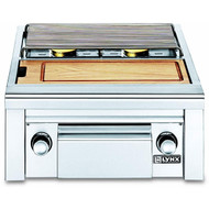 Lynx Built-in Double Side Burner with Integral Prep Center