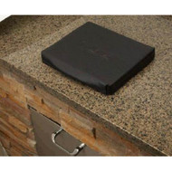 Lynx Counter-top Trash Chute with Cutting Board and Carbon Fiber Vinyl Cover