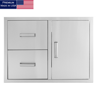 All Pro Premium Double Drawer & Door Storage Combo (US-SDDDC)