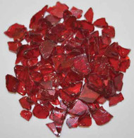 "HPC Fire Pit Glass - Red 1/4"" - 10 lbs (FPGLRED)"