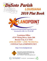 Desoto Parish Louisiana 2010 Plat Book, OL-Desoto