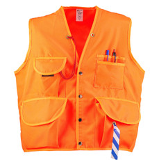 JIM-GEM Pro 10-Pocket Polyester Oxford Cruiser Vest