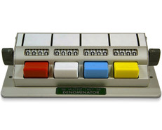 Denominator 4 Unit Tally Counter, MT-4
