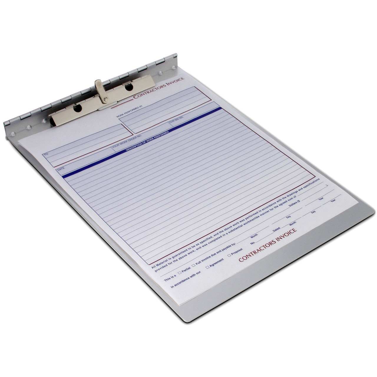 saunders covered clipboard sheet holder no storage at