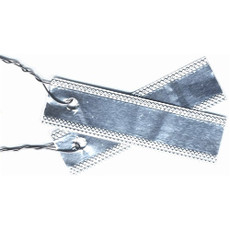 """Double Faced Aluminum Tags, 7/8"""" x 3"""" - Box of 50"""