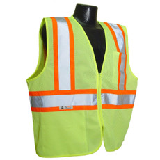 Radians Class 2 Safety Vest, Hi-Viz Green - SV22