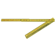 Rhino 6' English/Metric Folding Ruler 55155
