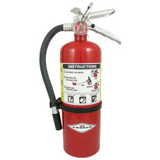 Amerex 5 lb Dry Chemical Fire Extinguisher, B-500T - B402T
