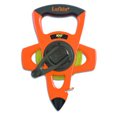 Lufkin 100' Hi-Viz Atlas NY-Clad Measuring Tape
