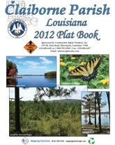 Claiborne Parish Louisiana 2012 Plat Book, OL-Claiborne