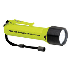 Pelican Sabrelite 2000 Safety Flashlight - Yellow, 2000CYEL