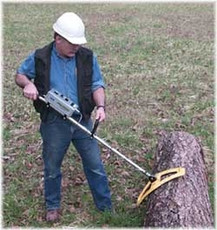 RENS P-4000 Metal Detector for Logs