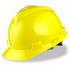 MSA Cap Style Hard Hat (Staz-On Adjustable) Yellow