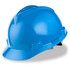 MSA Cap Style Hard Hat (Staz-On Adjustable) Blue