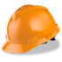 MSA Cap Style Hard Hat (Staz-On Adjustable) Orange
