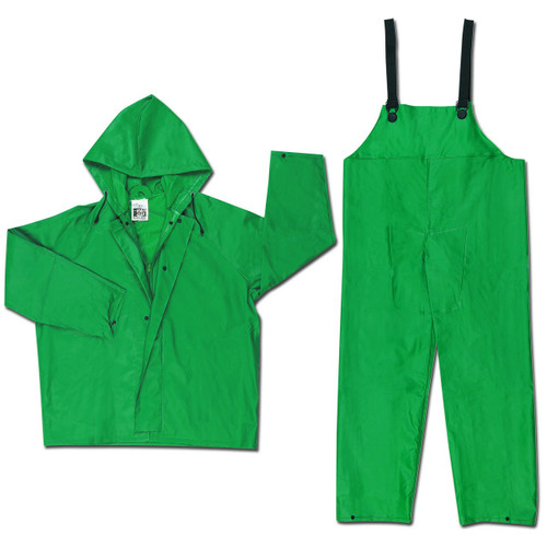River City Dominator Green FR Rain Suit, 3882