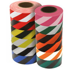 Presco Striped Roll Flagging tape
