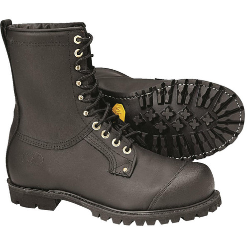 SwedePro Chain Saw Protective Leather Boots