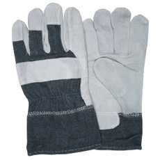 "Memphis Split Shoulder Gloves 2-1/2"" Denim Safety Cuff Gloves"