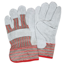 Memphis Starched Safety Cuff, Fleece Lined Split Shoulder Leather Ladies Gloves (1201S) at CSPForestry.com