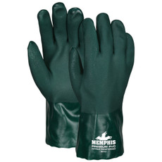 Memphis Premium Green PVC Gloves 6412