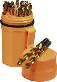 Norseman Blaze Orange Ultradex Jobber Drill Bit Set