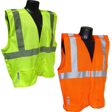 Radians Economy Class 2 Breakaway Mesh Safety Vest