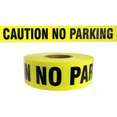 Presco Yellow Caution No Parking Barricade Tape - B3103Y7