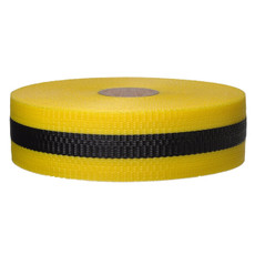 Presco Woven Barricade Webbing Tape Yellow Black