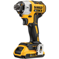 "DeWalt 20-Volt Max XR Brushless 3-Speed 1/4"" Impact Driver (Tool-Only), DCF887B"