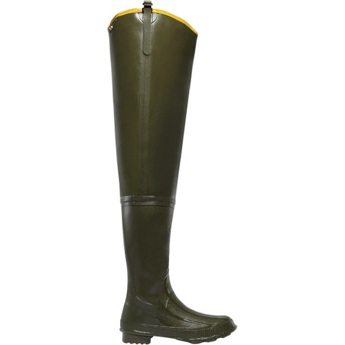 """LaCrosse 32"""" Big Chief Green Hip Wader Boots - 15404"""