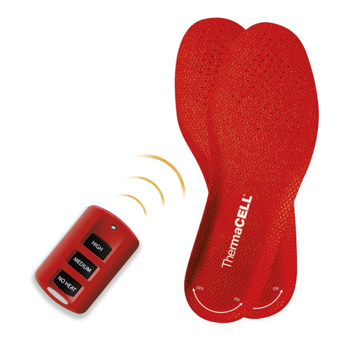 Thermacell Wireless and Rechargeable Heated Foot Warmer Insoles