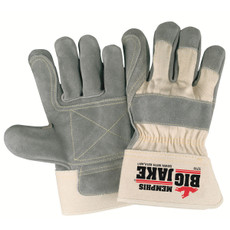 "Memphis Big Jake Double Leather Palm Gloves, 2.75"" Safety Cuffs, 1711"