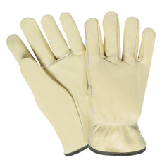 Memphis Tan Select Grade Leather Driver Gloves, Straight Thumb, 3201