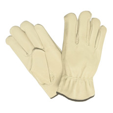 Memphis Pigskin Leather Driver Gloves, Keystone Thumb, 3411 - SIZE LARGE