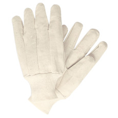 Memphis Cotton Canvas Gloves, Clute Pattern, Knit Wrist, 8100C
