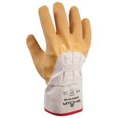 Showa Best Nitty Gritty Palm Coated Natural Rubber Glove, 66NFW
