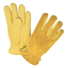 Memphis Deerskin Leather Driver Gloves, 3505