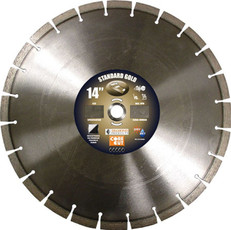 "Diamond 14"" x 1/8"" Standard Gold High Speed Blade, 57720"