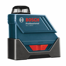 Bosch 360-Degree Self-Leveling Exterior Laser Kit, GLL150ECK
