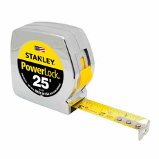 "Stanley 25' x 1"" Powerlock Tape Rule, 33-425"