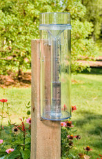 All-Weather English Rain Gauge